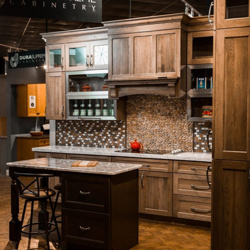 kitchen options in mariotti showroom