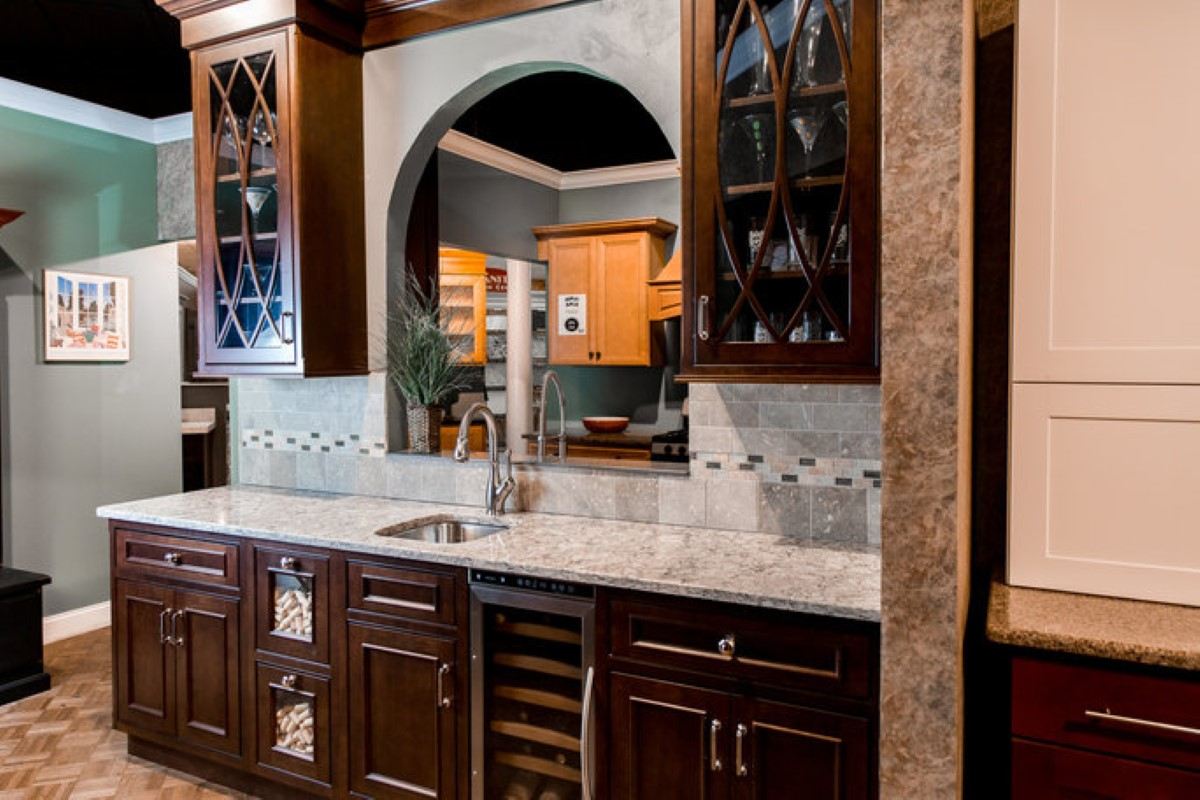 mariotti sink options in showroom
