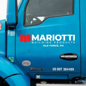 Mariotti Building products truck door