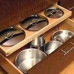 pot storage in new kitchen
