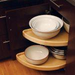 bowl storage in kitchen