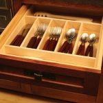 kitchen remodel silverware drawer