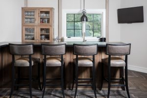 New Trend: Turn Your Formal Dining Room into a Bar
