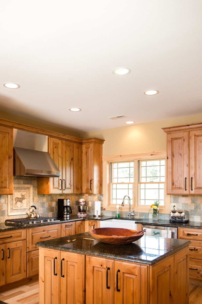 kitchen remodel wooden cabinets