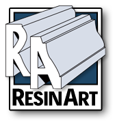 RA Resinart logo