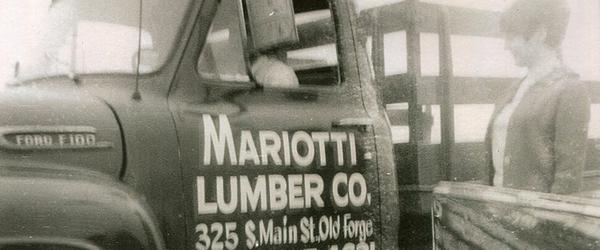 Mariotti Lumber truck