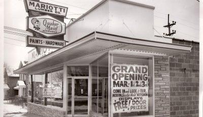 Mariotti Lumber Company original store