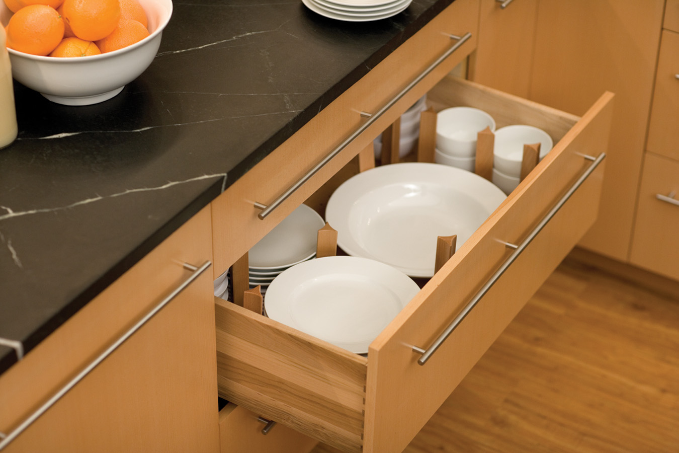 You are currently viewing Built-In Organization for Kitchens: 6 Cabinet & Drawer Options We Recommend