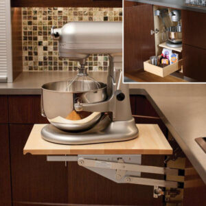 Read more about the article Part 2 – Built-In Organization for Kitchens: Unique Storage Solutions