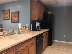 before photo of Ronald McDonald House kitchen